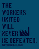 WORKERS UNITED - The Working-class Brand - Closer Than Most
