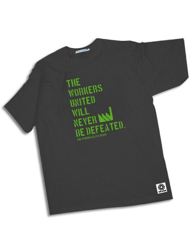 Workers United (t-shirt) - The Working-class Brand - Closer Than Most