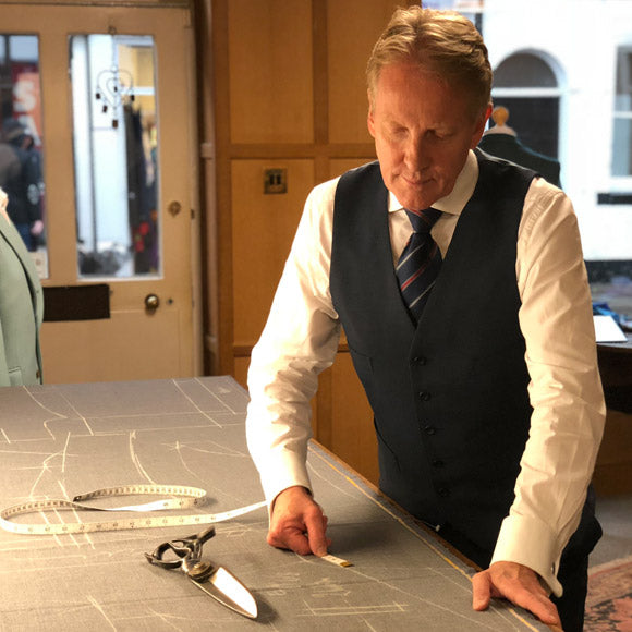 Tom Mahon Bespoke Savile Row Tailor