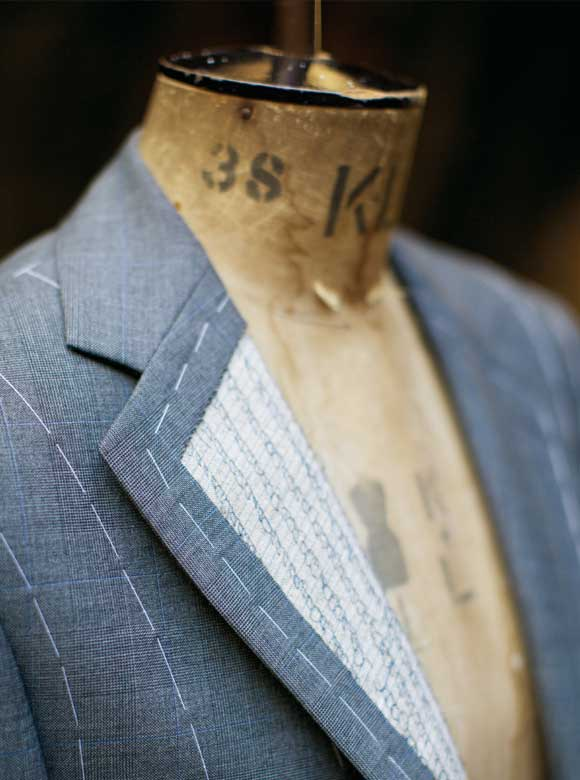 Redmayne Made to Measure Suit Detail