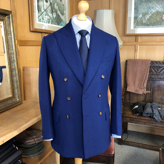 Bespoke bluejacket from Redmayne