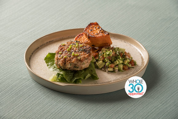 Whole30 Meal Plan Turkey Patty