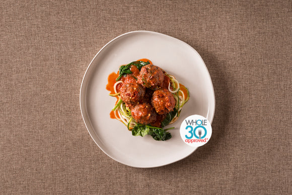 Italian Meat Balls Whole30 Prepared Meal Package Delivery