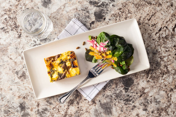 Vegetarian Butternut Squash and Goat Cheese Frittata