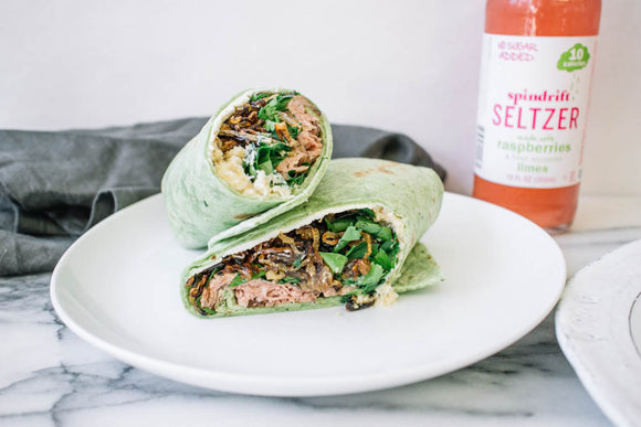 Roast Beef and Goat Cheese Wrap
