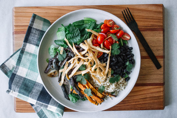 Fajita Salad Vegetarian Meals Delivery