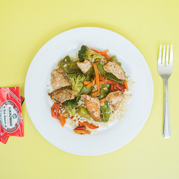 Kids Chicken Veggie Stir Fry
