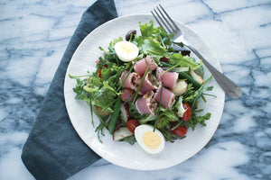Tuna Nicoise Salad Whole30 Prepared Meal Package Delivery