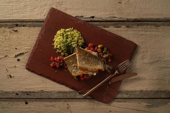 Trout ala Veracruzana with