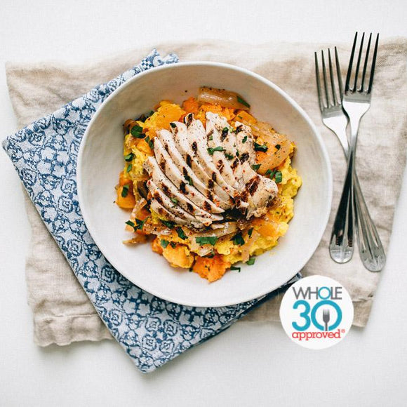Whole30 Best Meal Delivery Turmeric Chicken