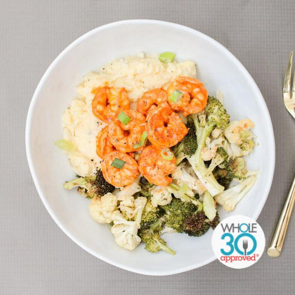 Shrimp Buffalo Whole30 Prepared Meal Plan Delivery