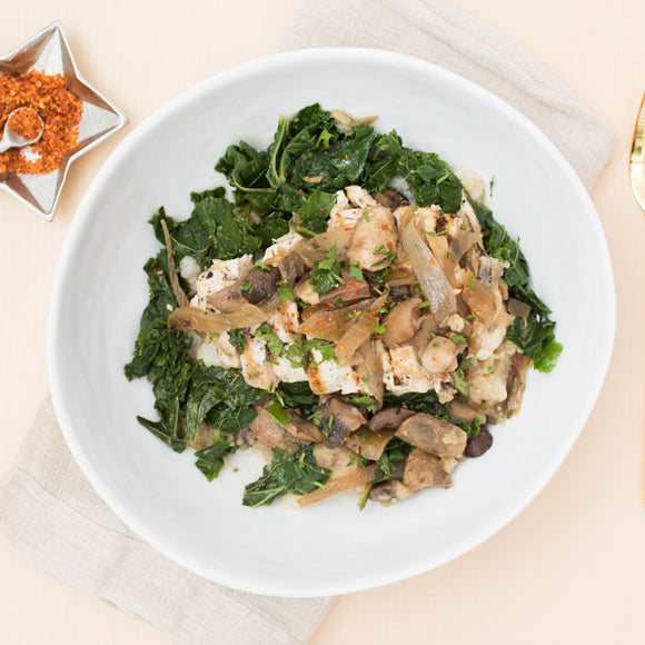 Mushroom Ragout Whole30 Prepared Meal Package Delivery