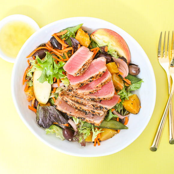 Loaded Tuna, Apple and Pepita Salad