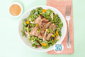 Kale Salad hiitide whole30 prepared meals