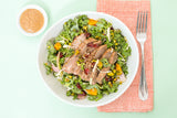 hiitide Kale, Cherry and Steak Salad