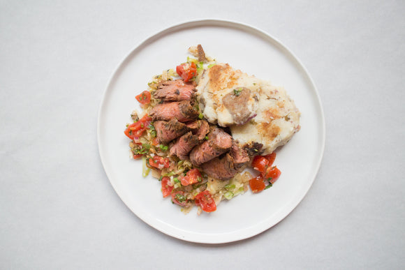 Whole30 Dry Rubbed Flank Steak