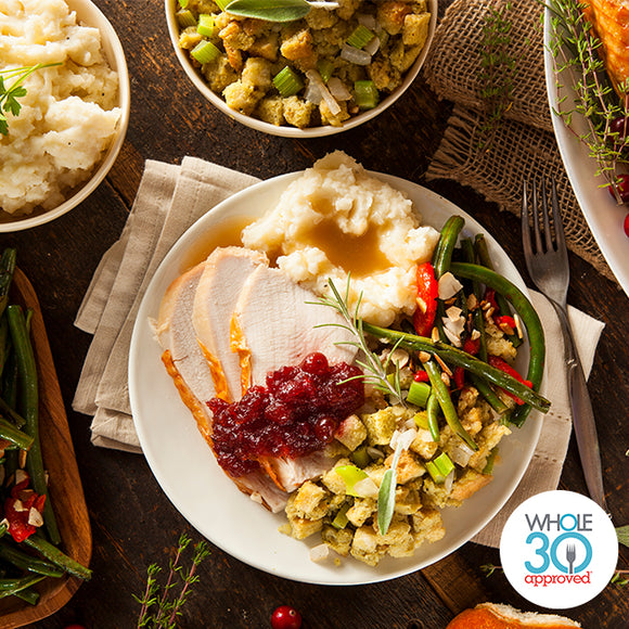 Whole30 Thanksgiving Dinner