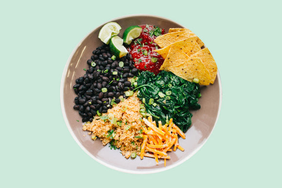 Taco Bowl Prepared Meal Plan Delivery
