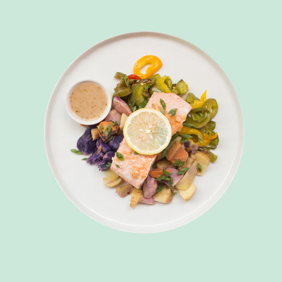 Baked Salmon Prepared Meal Plan Delivery