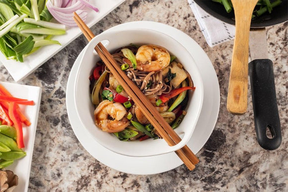 Shrimp Stir Fry with Soba Noodles