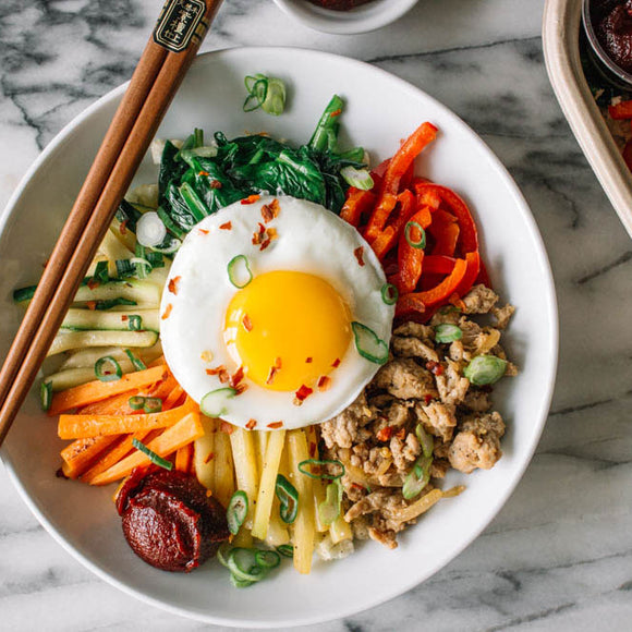 Turkey and Brown Rice Bibimbap