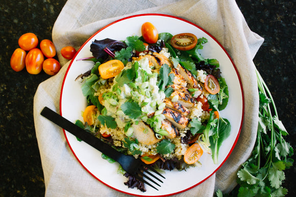 Whole30 Chipotle Chicken Salad