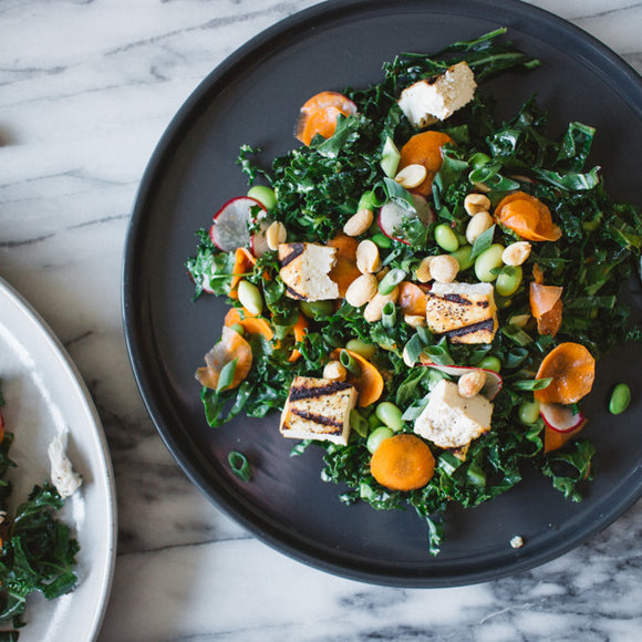 Vegetarian Lemongrass Tofu Salad
