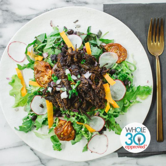 BBQ Beef Salad Whole30 Prepared Meal Plan Delivery