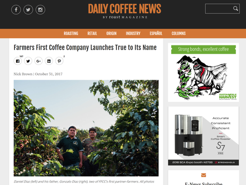 Farmers First Coffee Company Launches True to Its Name