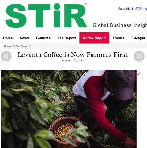 Levanta Coffee is Now Farmers First