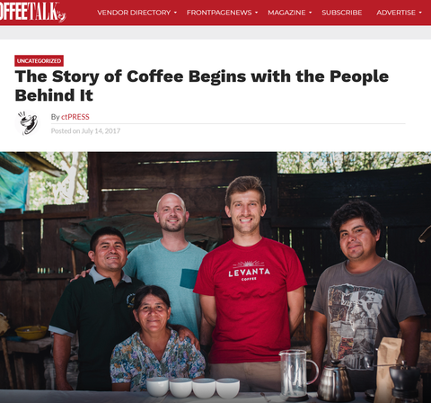The Story of Coffee Begins with the People Behind It