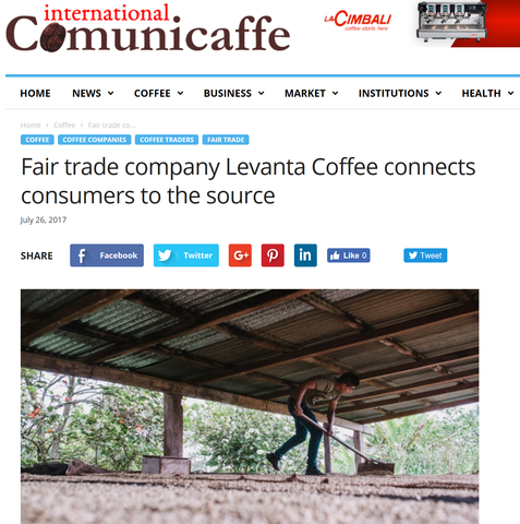 Fair trade company Farmers First Coffee connects consumers to the source