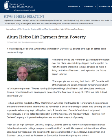 Alum Helps Lift Farmers from Poverty