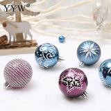 Stylish 24 Piece Christmas Ornament Set - ChristmaShop