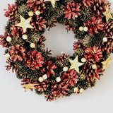 Star Christmas Wreath - ChristmaShop