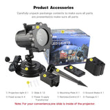 12 Pattern Outdoor Christmas Animation Projector - ChristmaShop