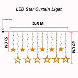 LED Christmas Curtain Lights - ChristmaShop