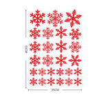 Christmas Snowflake Window Decal - ChristmaShop