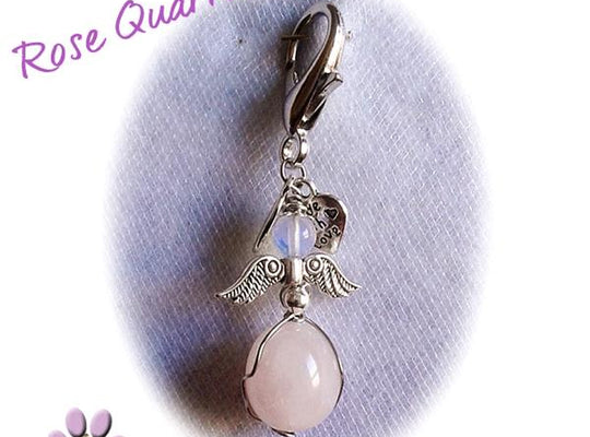 "Dog Charms ""Rose Quartz"" By Cheli Chelouche - ChristmaShop"