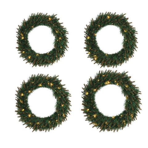 Led Light Christmas Wreath - ChristmaShop