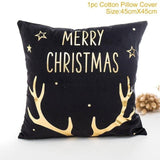 Decorative Christmas Pillowcases for 2019 45x45cm - ChristmaShop