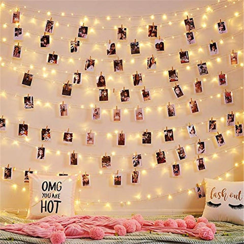 Photo Holder LED String Lights - ChristmaShop