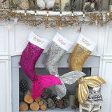 Brand New Christmas Mermaid Stocking - ChristmaShop