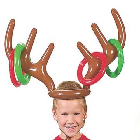 Reindeer Antler Ring Toss Game - ChristmaShop