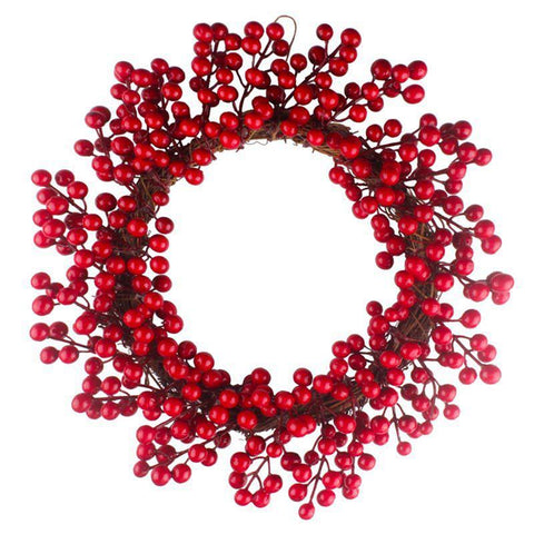 Creative Berry Christmas Wreath - ChristmaShop