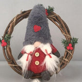 Christmas Wreath With Swedish Santa - ChristmaShop