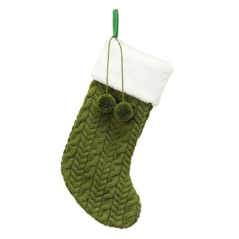 Classic Knitted Christmas Stockings - ChristmaShop