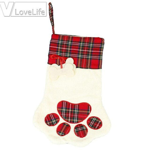 Amazing Plaid Pet Christmas Stockings - ChristmaShop