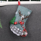 10 Piece Candy Sock Decorations - ChristmaShop