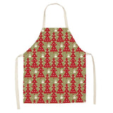 Red Christmas Cotton Aprons - ChristmaShop